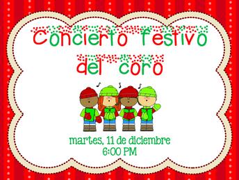 Concierto festivo del coro