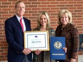 Mrs. Greenlaw Receives Statewide Award