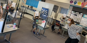 1st Grade Writing and Phonics with Guest Teacher Mrs. Peneku!