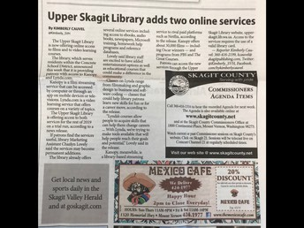 Skagit Valley Herald Press Release
