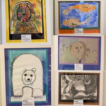 Brentwood Vet Displays Artwork