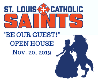 """""""Be Our Guest"""" at Open House Nov. 20!"""