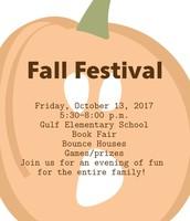 Fall Festival Friday, October 13