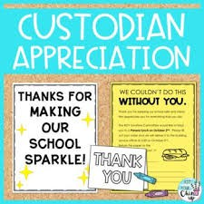 Custodian & Maintenance Appreciation Week