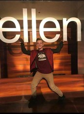 Dancing on the Ellen Show