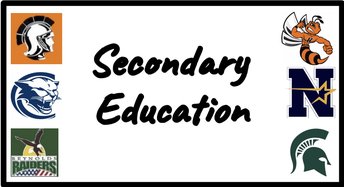 Secondary Education Fall 2020 Update