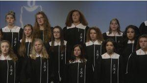 The High School Chamber Choir Broadcast on WTLW