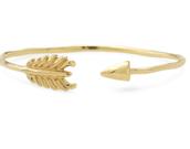 Gilded Arrow Bracelet-gold