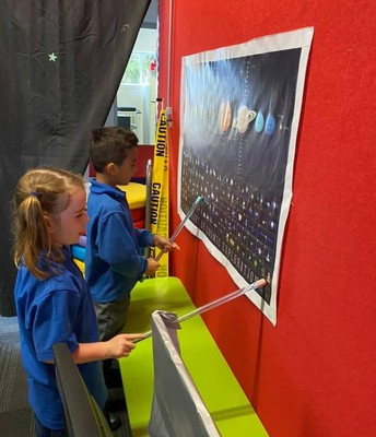 5 Year olds learning about the solar system