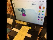 Minotaur design on Tinkercad