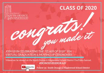 Virtual Graduation Update:  CHS