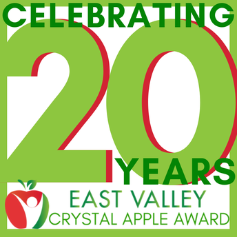 Celebrating 20 years of the Crystal Apple Award