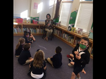 Story time with Mrs. Safe