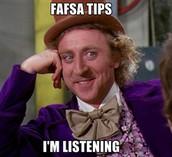 """FAFSA """"Don'ts"""""""
