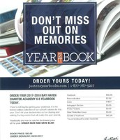 Middle School Yearbooks- $42.00