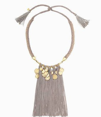 Samira fringe necklace