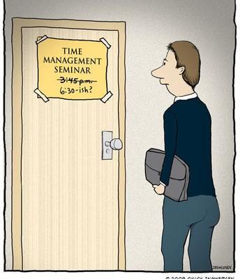 Time Management Seminar
