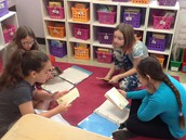 Preparing our final book clubs!