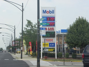 Mobil Gas Station Donation