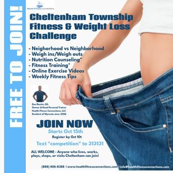Cheltenham Township Fitness & Weight Loss Challenge