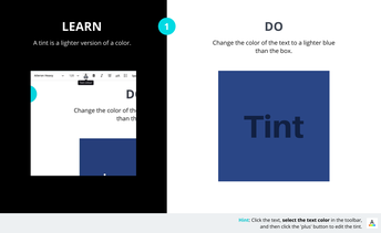 Create Color Tints