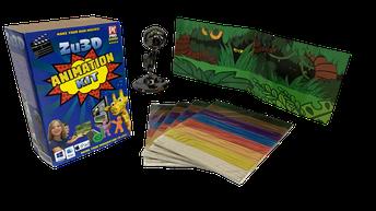 Zu3D Stop Motion Animation Kit