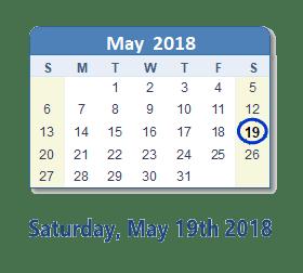 Lake Orion: Saturday, May 19, 2018 1:00 PM - 4:00 PM