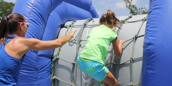 Family obstacle course March 3, 2018