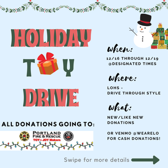 Holiday Toy Drive at LOHS
