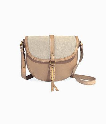 Covet Sloane Bag, mushroom/leather