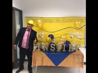 Principal Effrain Tovar- Leslie Stemmons Elementary