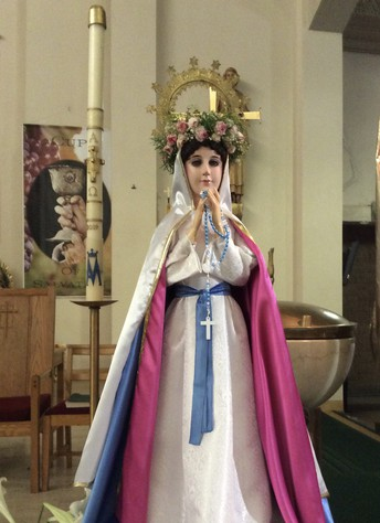 The Crowing of Mary Mass:  A Holy Angels School Tradition Honoring Our Mother Mary