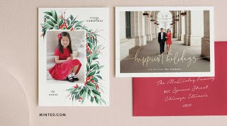Shop for holiday cards and gifts on Minted - You save 20%, Minted donates 15% to St. Luke PTO!