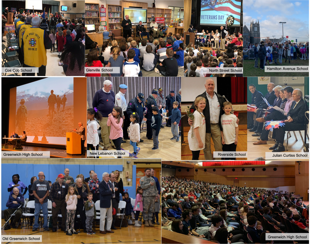 Veterans Day celebrations across many of our schools