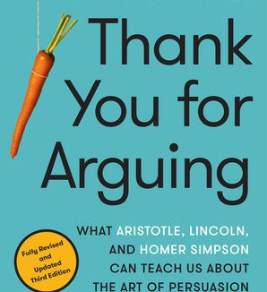 Thank you for Arguing by Jay Heinrichs