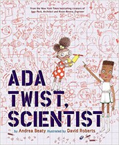 3.  Ada Twist Scientist Giveaway