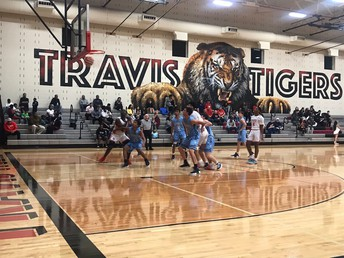Travis Boys Basketball is off to a fantastic start!  They are currently 5-1 in district play!
