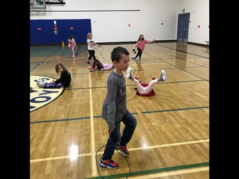 1/2L is jumping rope