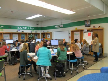 Collab Zone Group Write with Ms. Becker's Classes