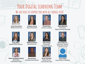 Digital Learning Team: We are here to help you with all things tech!