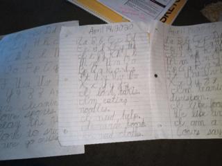 Cursive Writing in 2nd Grade!