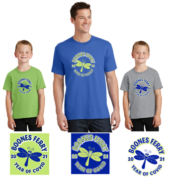 It's time to order your Boones Ferry Spirit Wear!