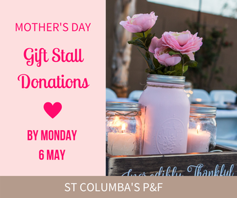 Mother's Day Gift Stall Donations