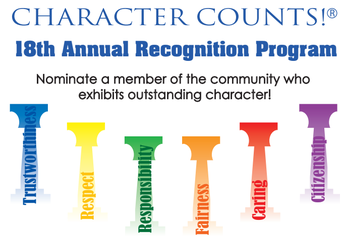 Character Counts -18th Annual Recognition Program