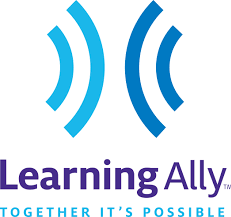 Learning Ally - audio book library for students who need reading accommodations