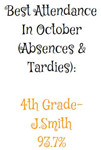 Best October Attendance