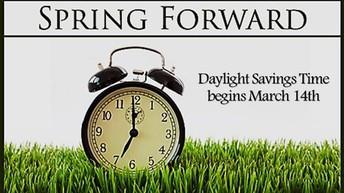Spring Forward...
