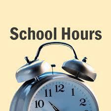 Recordatorio sobre el horario escolar