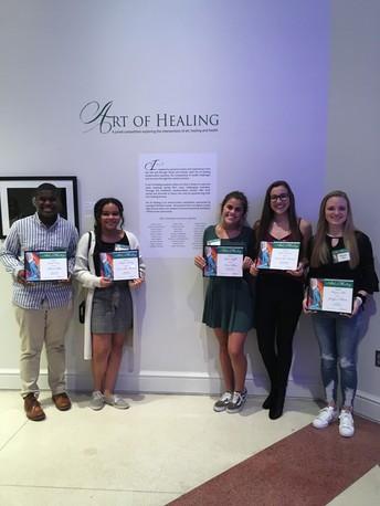 Gators of the Week:  Art of Healing Contest Winners