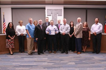 Chamber of Commerce Recognized by TASB
